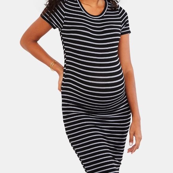 3bf2ebc1a2942 Motherhood Maternity Dresses | Rib Knit Sheath Dress | Poshmark